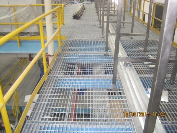 Reliance Steel Grating and Galvanizing Factory (Dammam, Saudi Arabia
